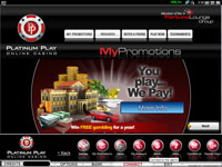 Platinum Play Casino Download